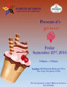 Ice Cream Social Flyer 2016