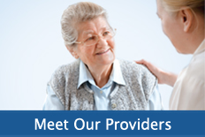 Meet Our Providers Blue